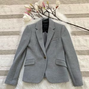 ZARA Woman▪️Gray Button Front Blazer. M